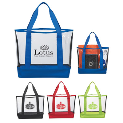 Promotional Clear Casual Tote Bag
