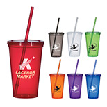 Personalized 20 Oz. Economy Single Wall Tumbler - Custom 20 Oz. Economy Single Wall Tumbler