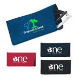 Personalized Neoprene Eyeglasses Case - Logo Neoprene Eyeglasses Case