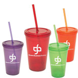 Customized 16 oz. Semi Pro Tumbler - Promo 16 oz. Semi Pro Tumblers