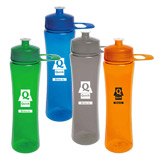Promotional 24 oz. PolySure Exertion Bottle - Custom Logo 24 oz. PolySure Exertion Bottles