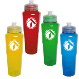 Imprinted 32 oz. PolySure Retro Bottle - Buy Logo 32 oz. PolySure Retro Bottles