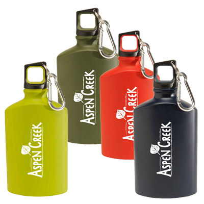 17 oz. canteen aluminum bottle