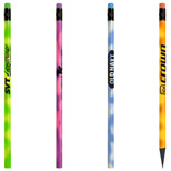 Promotional JB Mood Pencil with Matching Erasers - Bulk Logo JB Mood Pencils
