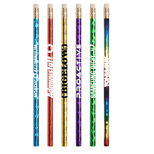 22514 - JoBee Prismatic Foil Wrap Pencil