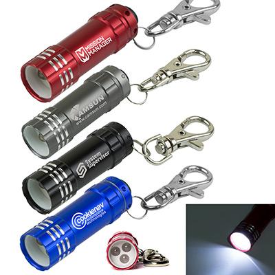 mini turbo 3 led aluminum keylight