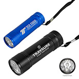22522 - 9 LED Torpedo Aluminum Flashlight