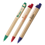 22538 - Recycled Cardboard Pen with Wood Clip