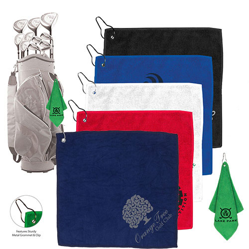 microfiber golf towel with clip
