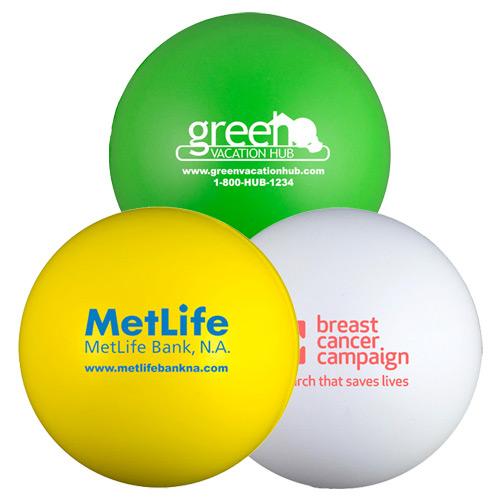 round squeeze balls