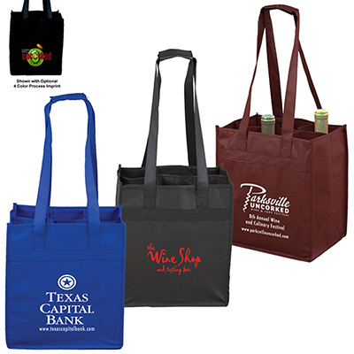 Customized Non-Woven Wine Tote