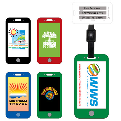 22558 - Mobile Cell Phone Luggage Bag Tag