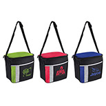 22597 - 6 Pack Color Block Cooler