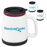 22601 - 18 oz. Ceramic Travel Mug