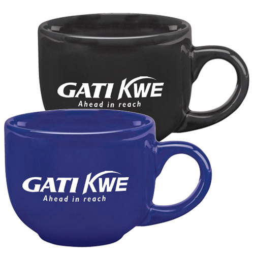 17 Oz Latte Mug- Colors