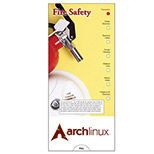 Promotional Fire Safety Charts - Custom Fire Safety Slide Charts