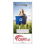 Customized Recycling Slide Chart - Personalized Recycling Slide Charts
