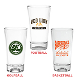 Custom Sport Bottom Pint Glasses
