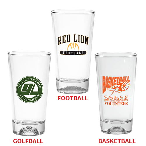 16 oz. Sport Bottom Pint Glass