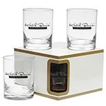 Custom Executive DOF Premium Glass Set - Personalized Executive DOF Premium Glass Set
