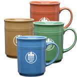 Custom Logo Baristi Mugs - Imprinted Baristi Mugs