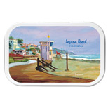 Personalized Beach Necessities Tins - Imprinted Beach Necessities Tins