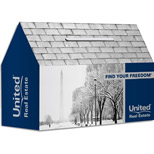Personalized House Bank - Imprinted House Bank