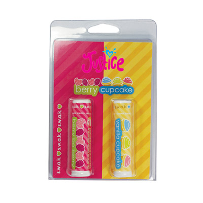 2 lip balm in blister pack
