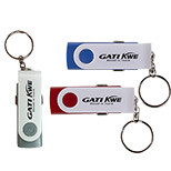 Promotional Key Chain USB Car Adaptor - Logo USB Car Adaptors