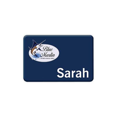 chicago name badge 2 x 3