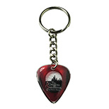 Personalized Guitar Pick Key Chain - Logo Guitar Pick Key Chain