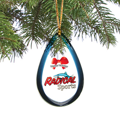 Custom Double Sided Ornament - 6.1 to 7 Sq. In.