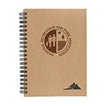 23034 - 5 x 7 Spiral Stone Paper Notebook