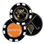 23037 - Customized Metal Poker Marker Chip