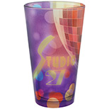 Promotional 16oz. Frosted European Pilsner Glass
