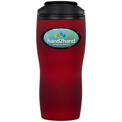 16 oz. premium soft touch tumbler