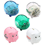 Custom Logo Piggy Bank