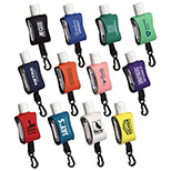 Promotional Cozy Clip Hand Sanitizer