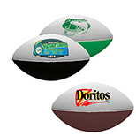 Personalized 7 Two-Toned Foam Footballs