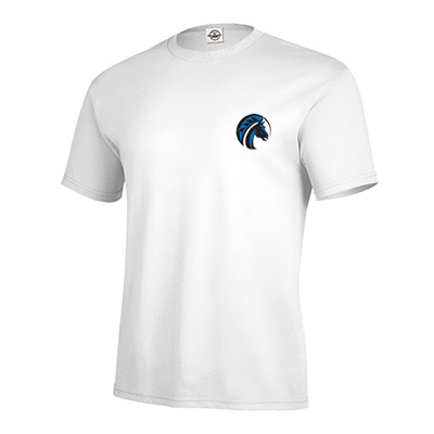 pro weight t-shirt 5.2 oz (white)