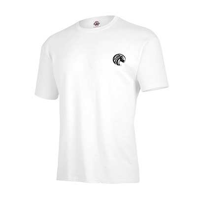 american made t-shirt (white)