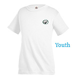 23176 - Youth Pro Weight T -Shirt 5.2 oz (White)