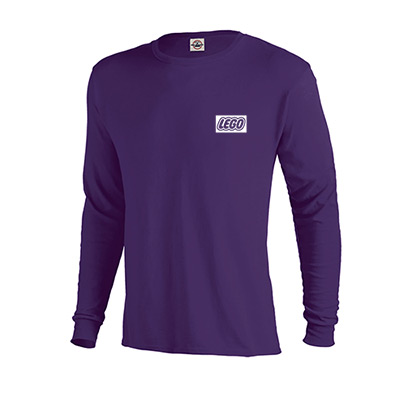 pro weight long sleeve tee 5.2 oz (premium)