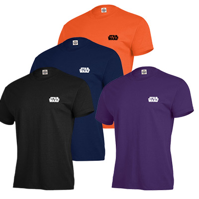 Adult Short Sleeve T-Shirt 6oz (Colored)