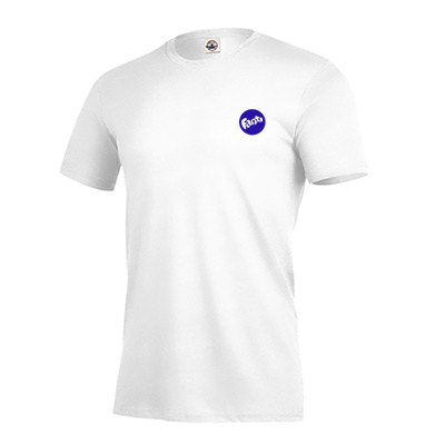 Ringspun Fitted T-shirt 4.3 oz (White)