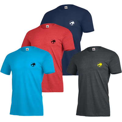 Ringspun Fitted T-shirt 4.3 oz. (Colors)