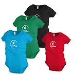 Imprinted 5.8 oz Rib Snap Infant T-shirt - Colors