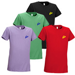 23193 - Girls Ring Spun Short Sleeve Tee 4.3 oz (Colors)