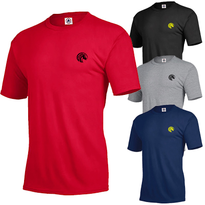 delta dri t-shirt 4.3 oz (colors)