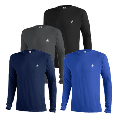 Delta Dri Long Sleeve T-Shirt 4.3 oz (Colors)